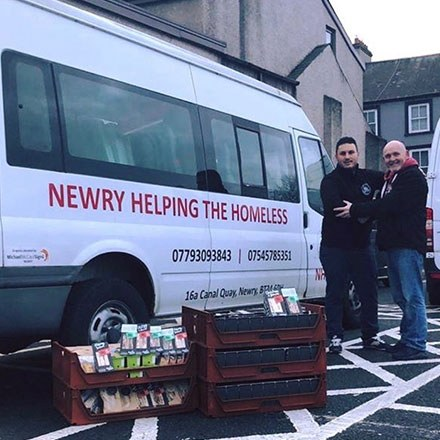 Helping The Homeless Newry